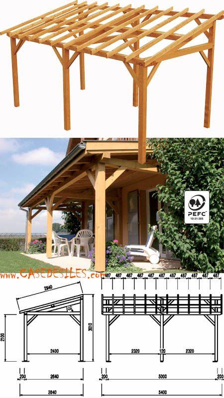 Abri terrasse bois à Pas Cher Avent de terrasse en bois