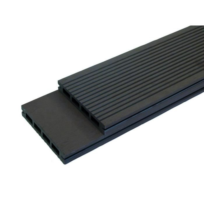PACK lame de terrasse posite Prima L 220 cm l 12