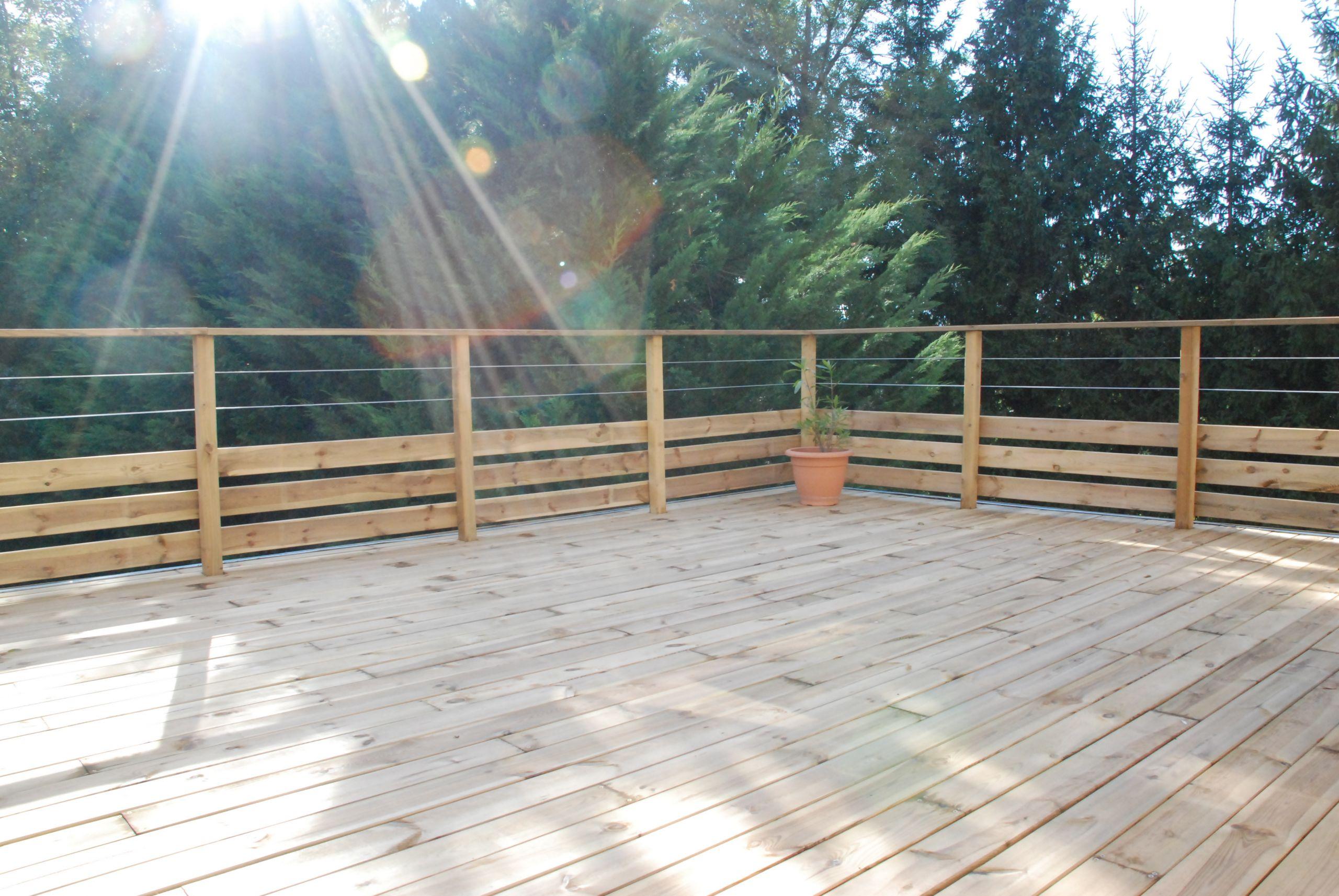 Terrasse en bois pas cher palette veranda styledevie