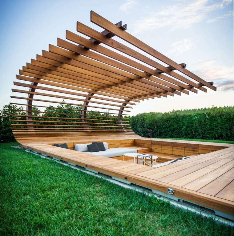 Kinderzimmers terrasse bois IPE