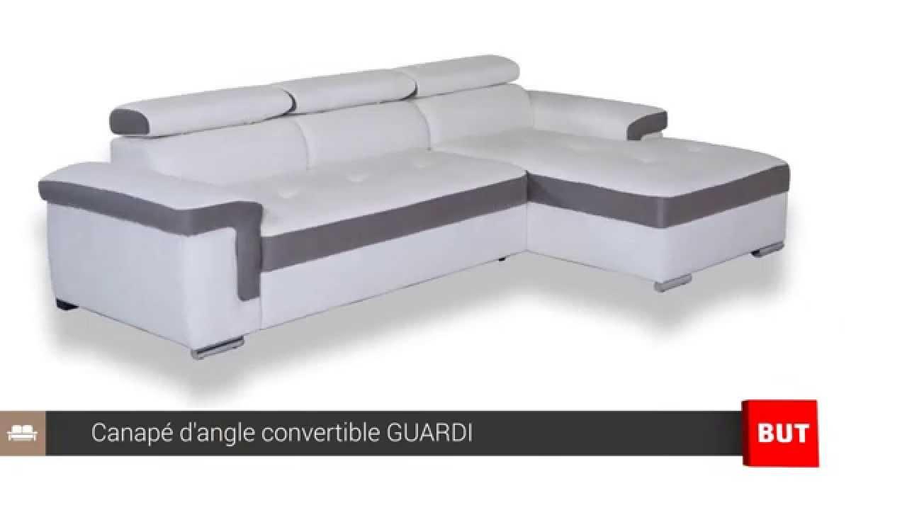 Canapé d angle convertible et méri nne GUARDI BUT