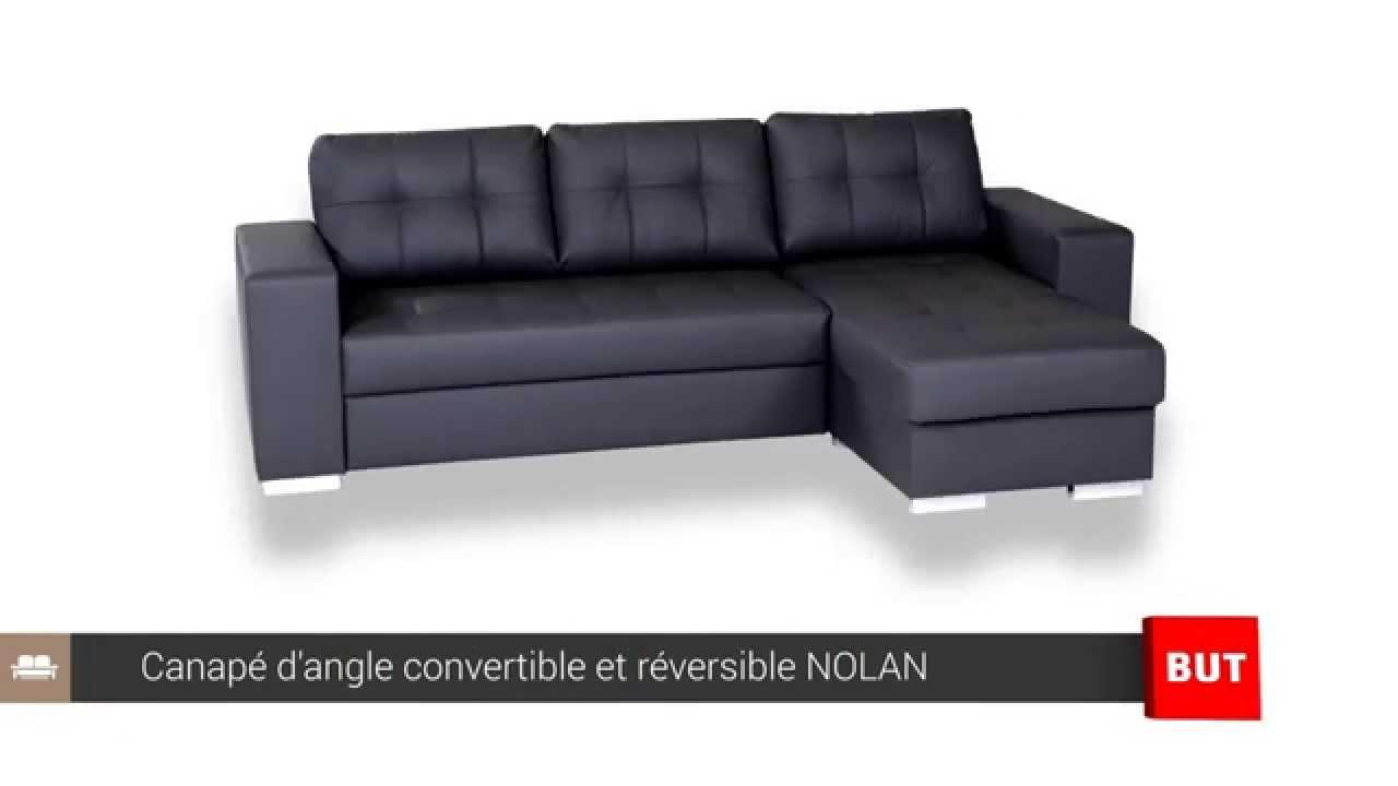 Canape d angle convertible et réversible NOLAN BUT