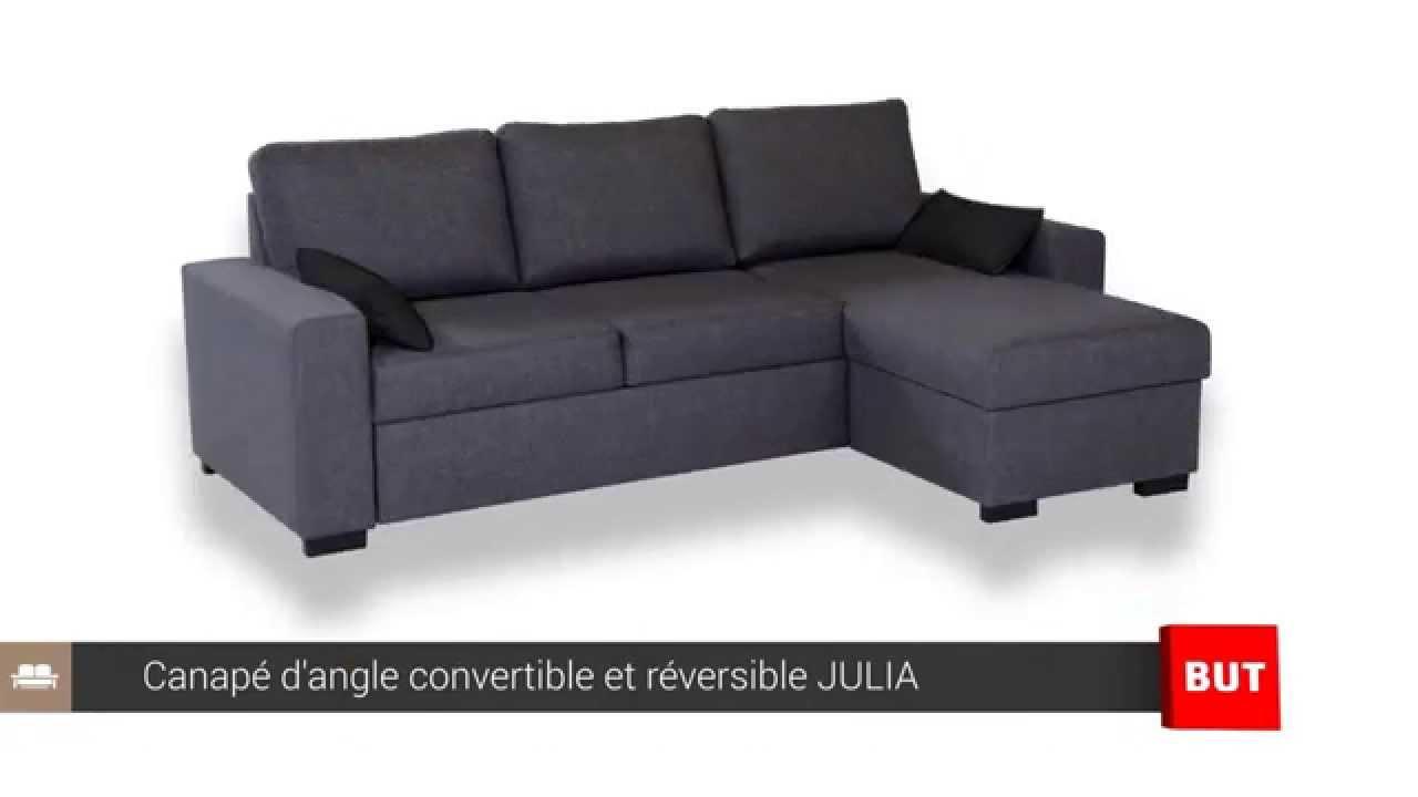 Canapé d angle convertible et réversible JULIA BUT