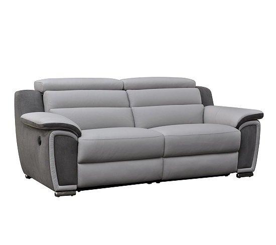 Canapé 3 places relax électrique WOW Cuir pas cher