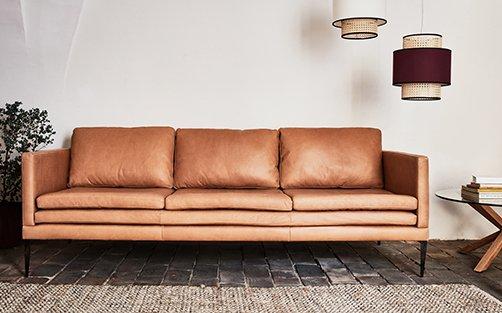 Canapé cuir fixe et convertible confort et qualité
