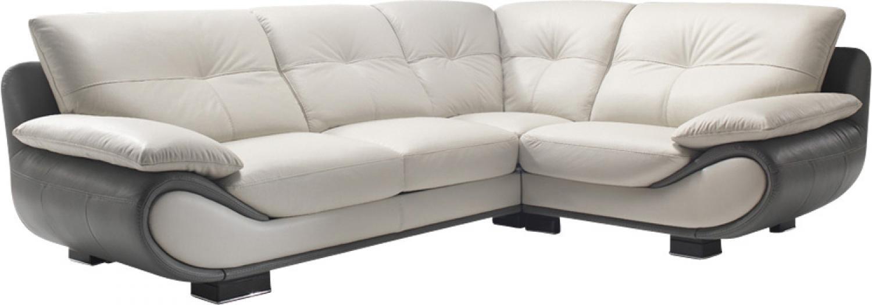 s canapé d angle cuir blanc but