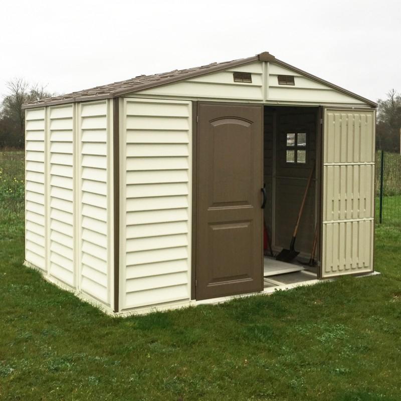 Abri de jardin en PVC WoodStyle Premium 7 68m² Duramax