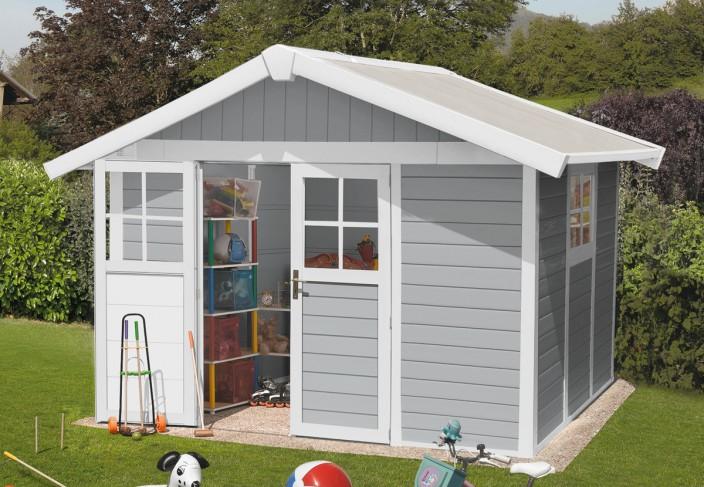 Abri jardin PVC résine DECO 7 5 GROSFILLEX 3 15 x 2 39 m