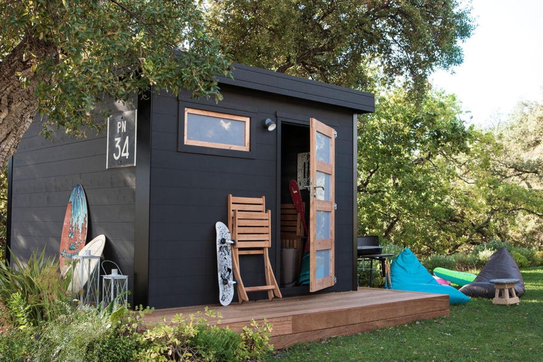 Une cabane moderne