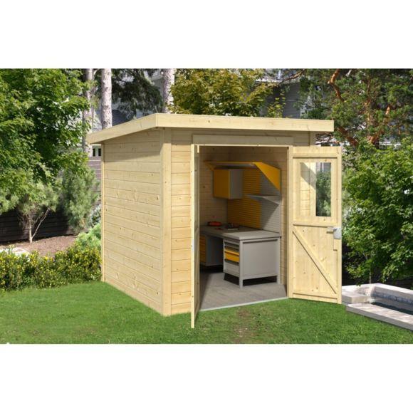 Cabane De Jardin 5m2 Abri De Jardin toit Plat Pas Cher Les Cabanes De Jardin