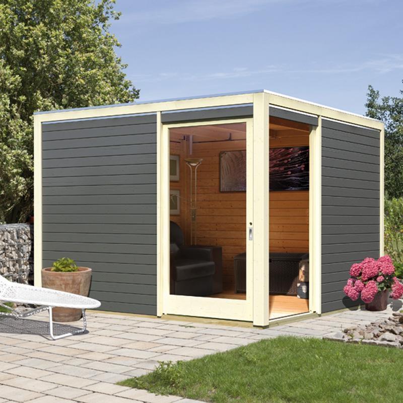Abri jardin toit plat 5m2 Abri de jardin et balancoire idée
