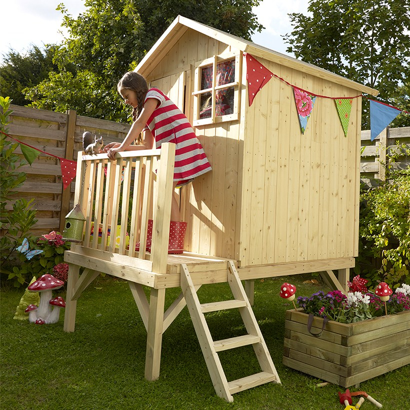 Castorama cabane enfant Les cabanes de jardin abri de