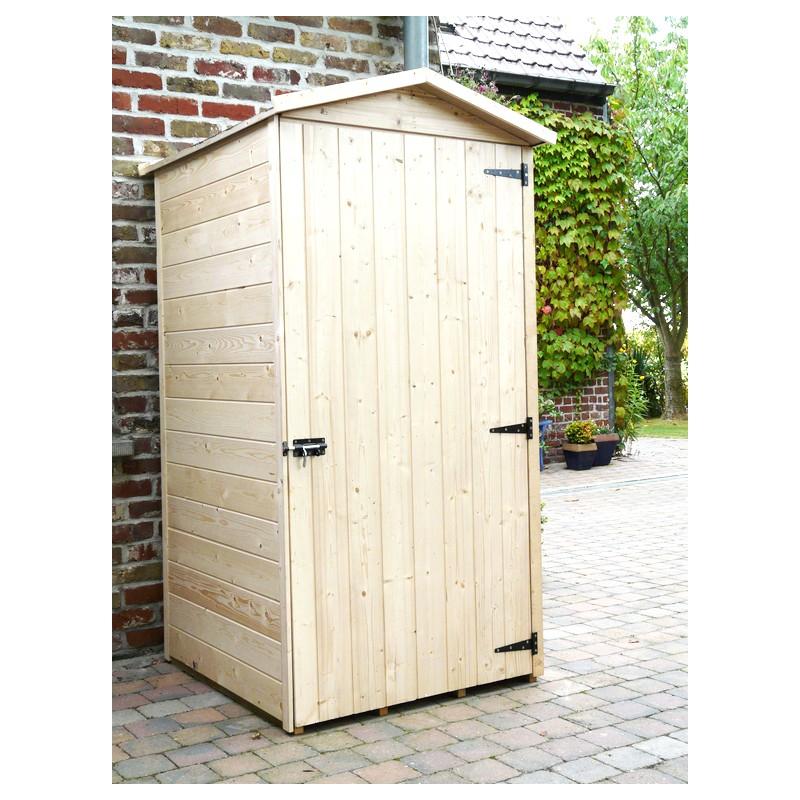 Petit abri de jardin en bois traité autoclave plancher SOLID
