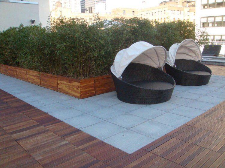 Caillebotis bois 50 exemples pour votre espace extérieur