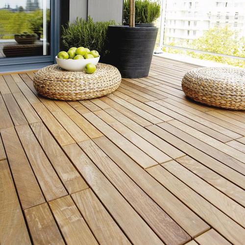 Terrasse bois caillebotis pose veranda styledevie