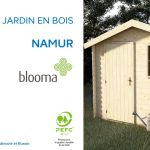Canapé De Jardin Bois Abri De Jardin En Bois Namur Blooma Castorama