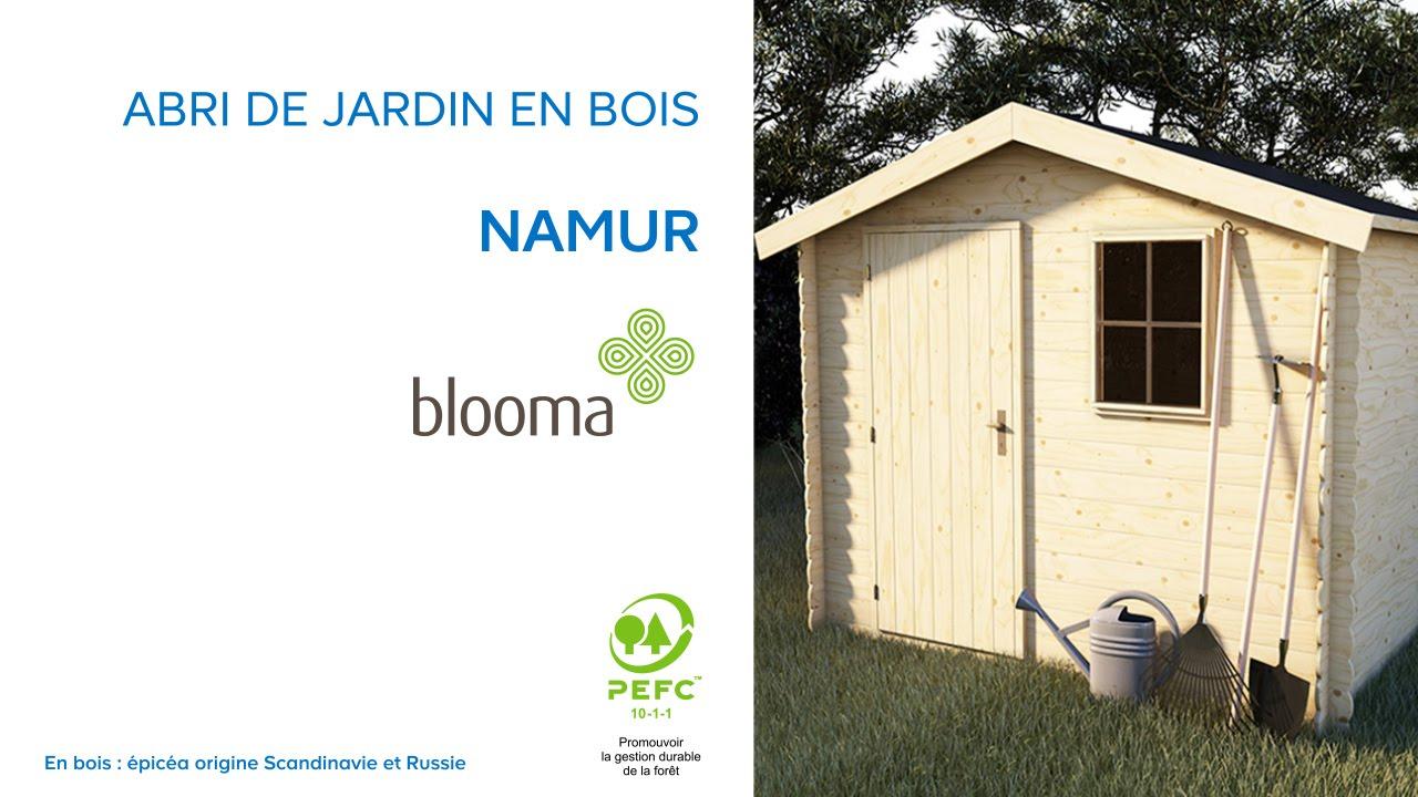 Abri de jardin en bois Namur BLOOMA Castorama
