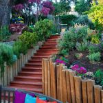 Canapé De Jardin Bois Escalier De Jardin à Faire soi Même En 49 Idées De Conception