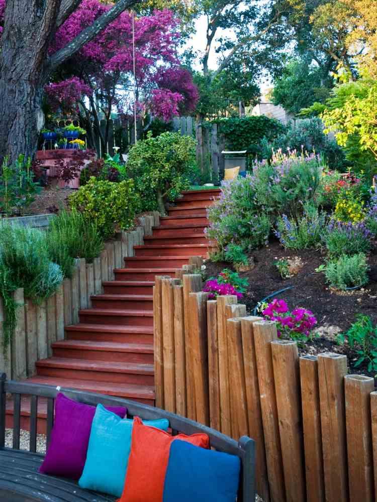 Escalier de jardin à faire soi même en 49 idées de conception