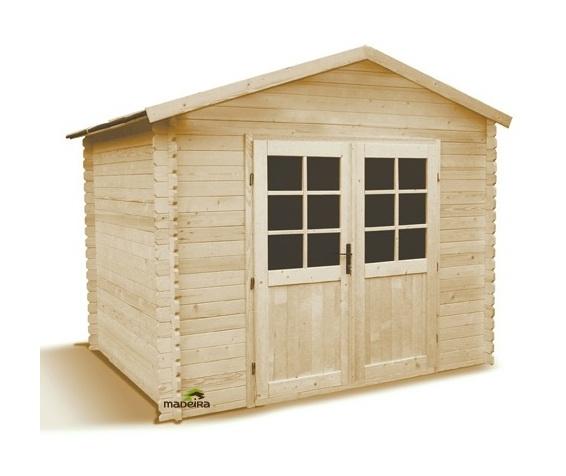 JARDIN MADEIRA Abri de jardin bois 4 7 m2 28 mm