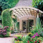 Canapé De Jardin Bois Pergola De Jardin En Bois 20 Super Idées De Design