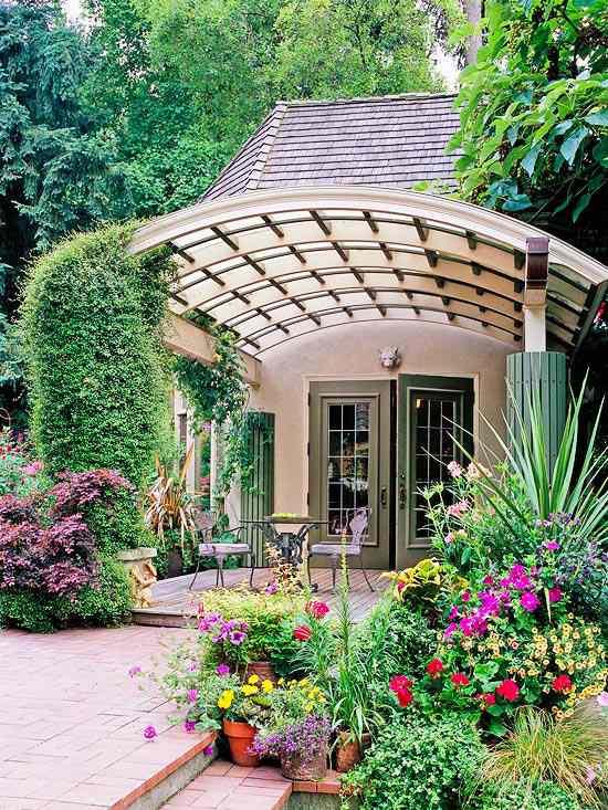 Pergola de jardin en bois 20 super idées de design