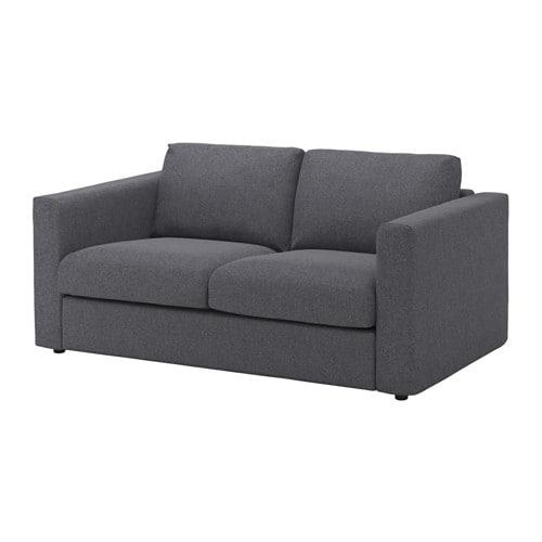 VIMLE Canapé 2 places Gunnared gris moyen IKEA