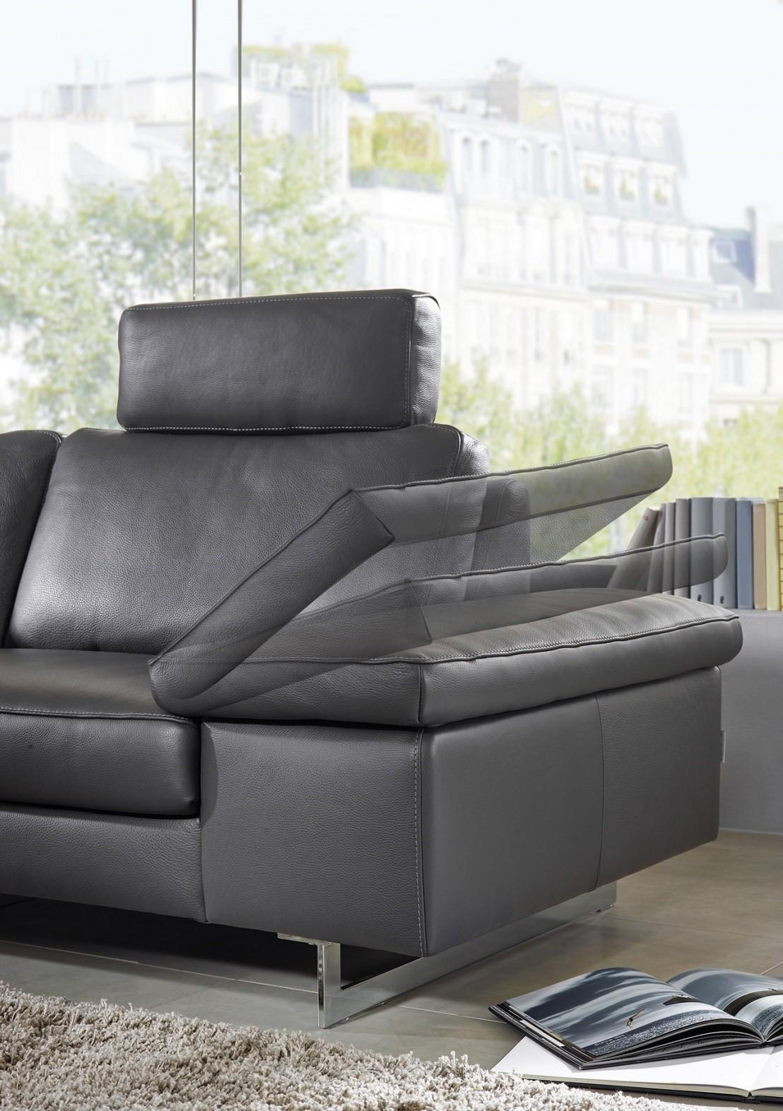 Canapé 3 places ICON design en cuir