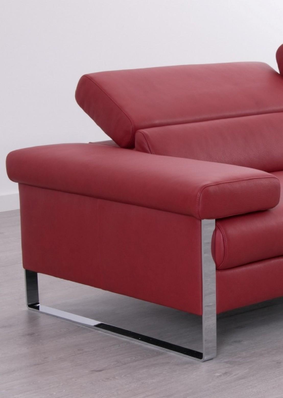 Canapé cuir design 3 places DreamLINE assises motorisées