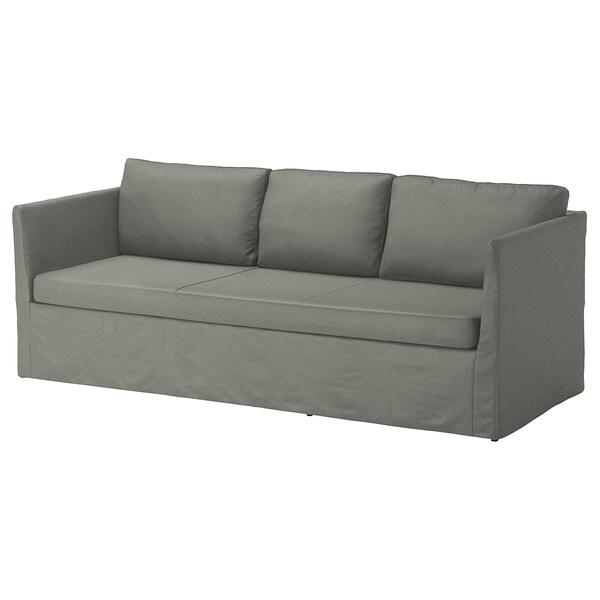 BRÅTHULT Canapé 3 places Borred gris vert IKEA