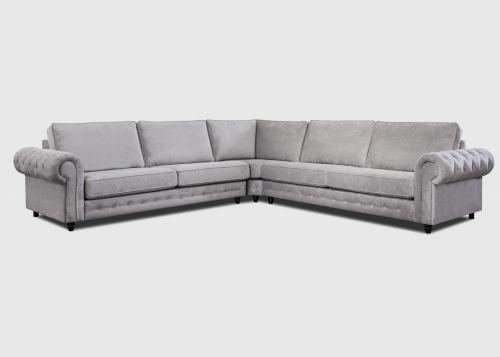 RASPOUTINE Canapé d angle 3 places Fixe en Tissu et ou