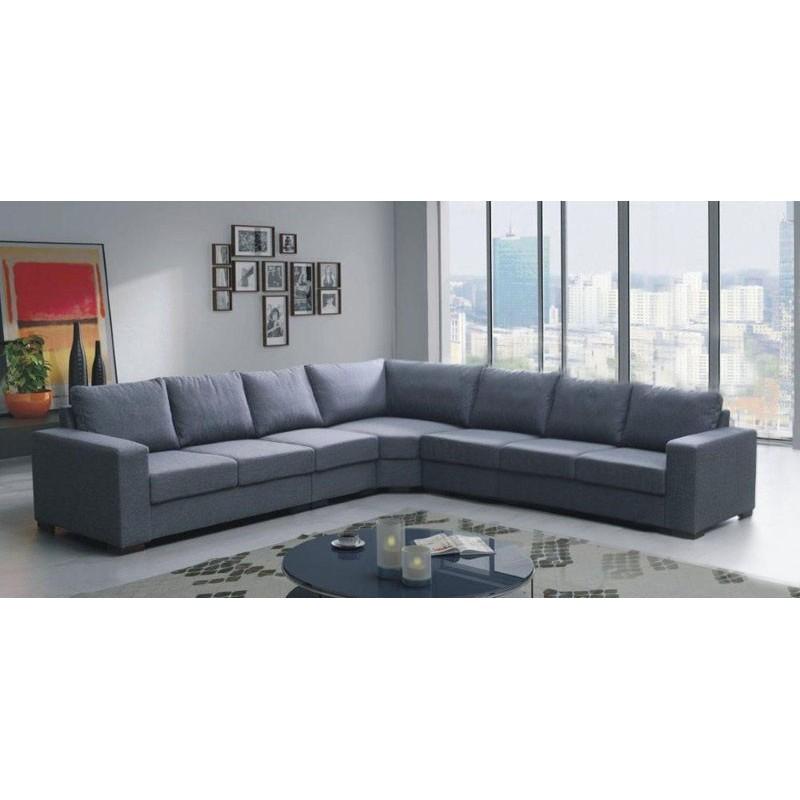 Canapé d angle 7 à 8 places LILI