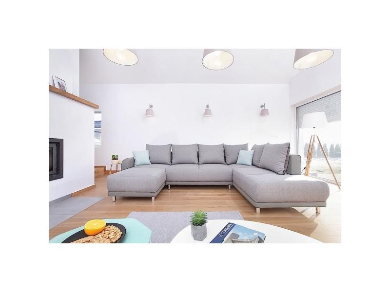 Minty panoramique droit canapé d angle 8 places