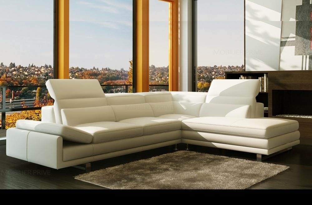 Canapé d angle en cuir italien prestige sélection 6 7