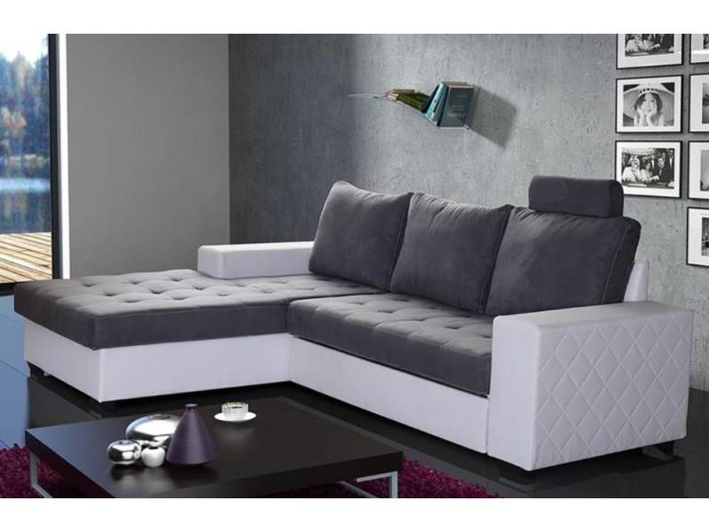 Canapé d angle gauche gigogne convertible rapido waterford