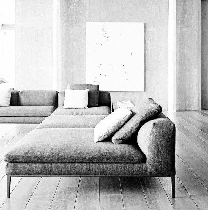 41 images de canapé d'angle gris qui vous inspire Voyez
