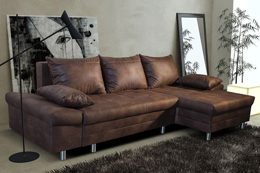 Canapé Angle Convertible Cuir Des Idées
