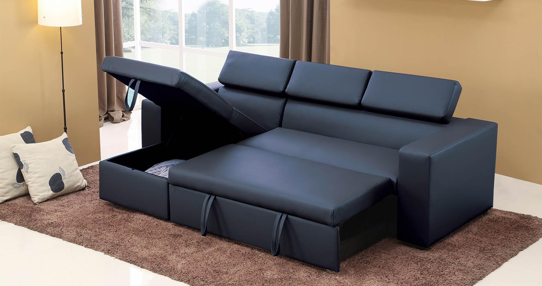 canapé d angle convertible reversible pas cher