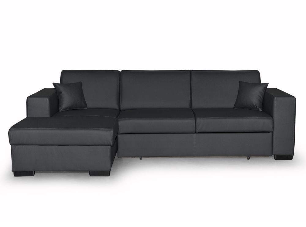 Canapé d angle 4 places simili cuir tendance