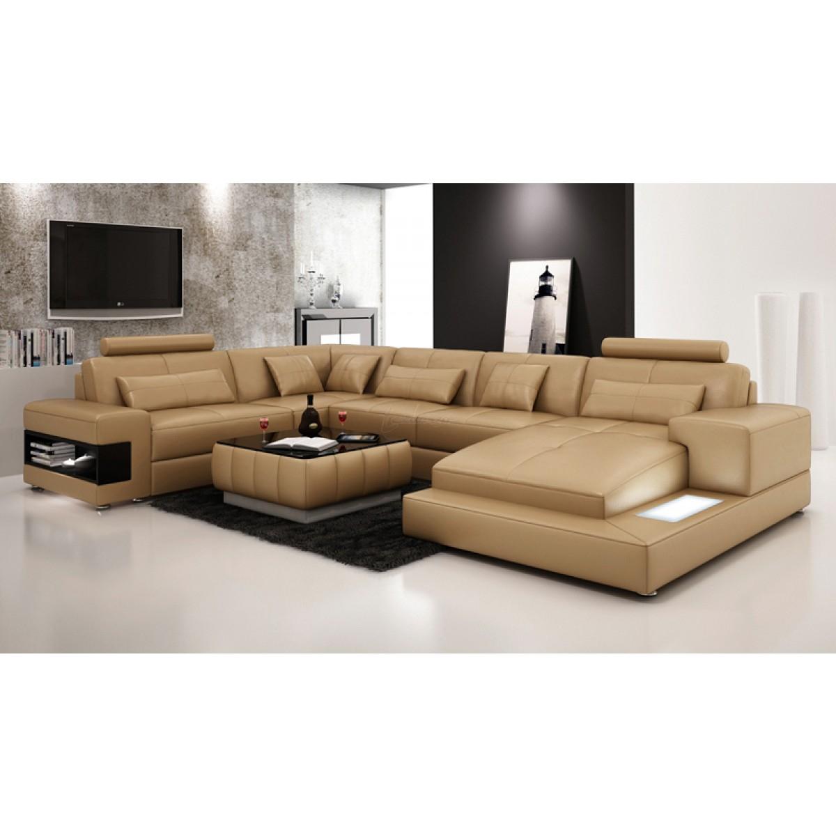 Grand canapé d angle design contemporain CAMARO XL 2 350 00