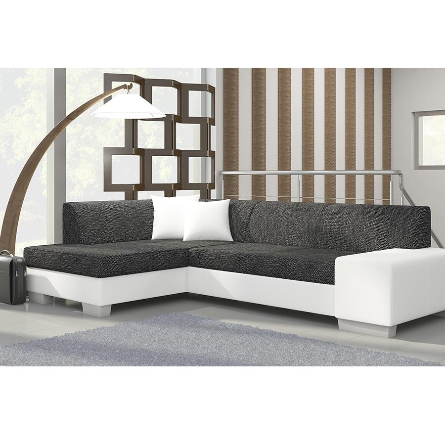 meuble de salon canapé canapé d angle blanc gris