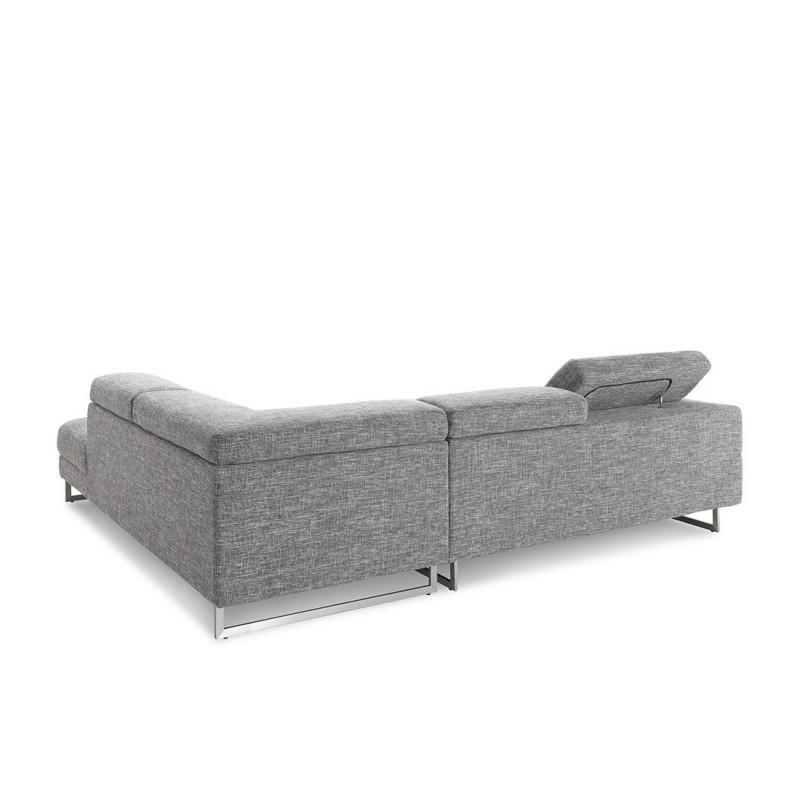 Canapé d angle côté Droit design 5 places avec méri nne