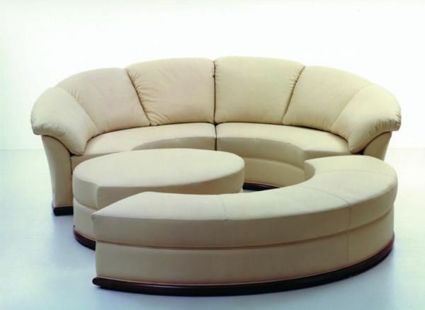 Le canapé d angle convertible en beige Archzine
