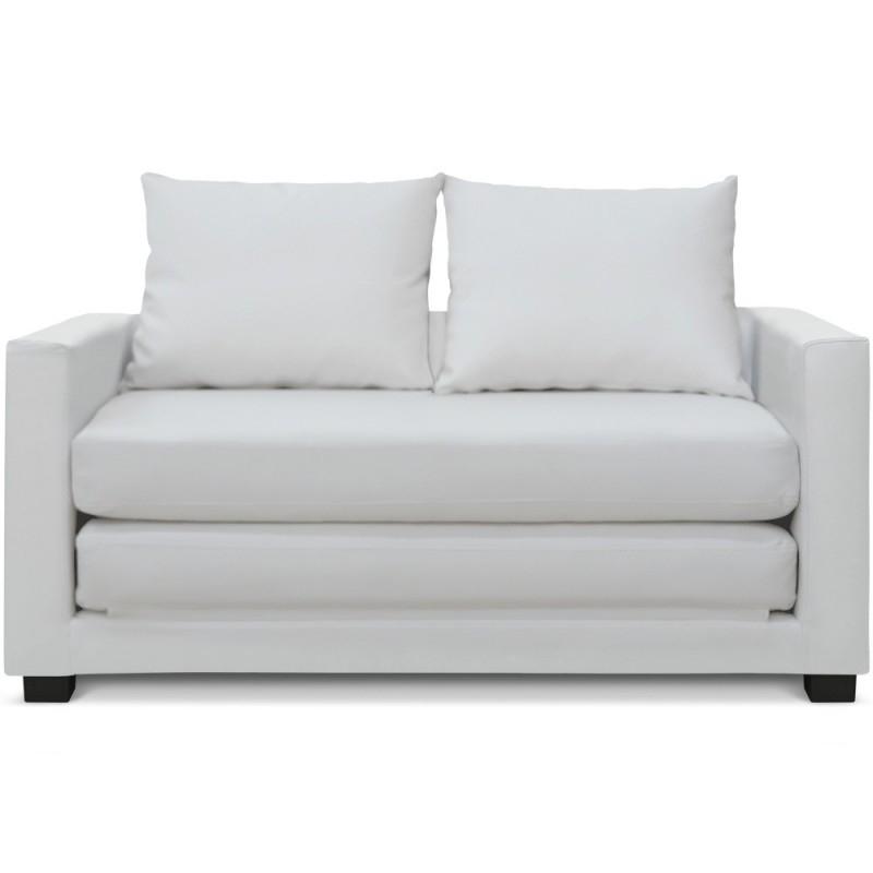 Canapé Blanc Convertible Concept