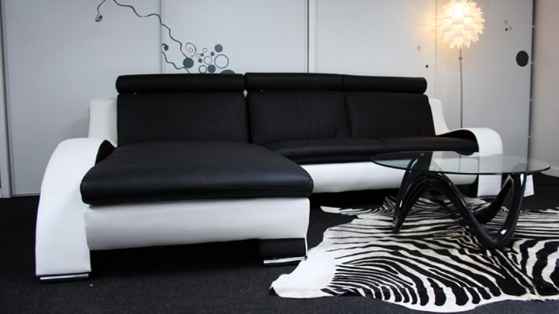 Canapé Blanc Et Noir S Canapé Noir Et Blanc Design