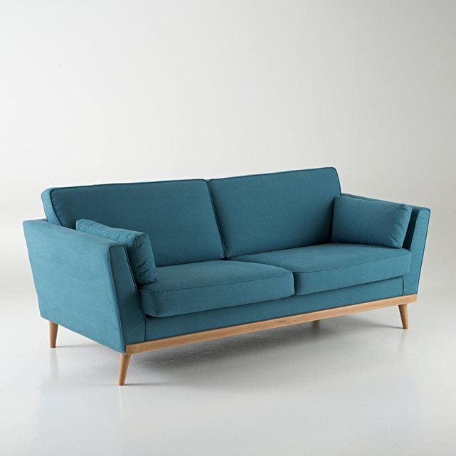 Canapé vintage 3 et 4 places Tasie La Redoute Interieurs