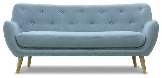 Canapé Bleu Ciel Conception
