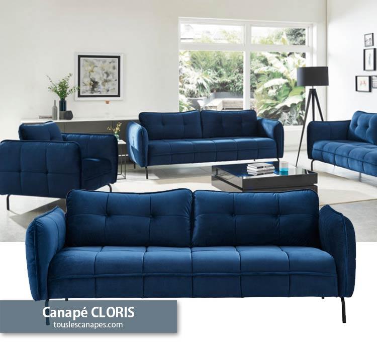 Canapé Bleu 20 modèles pour vous inspirer et décorer