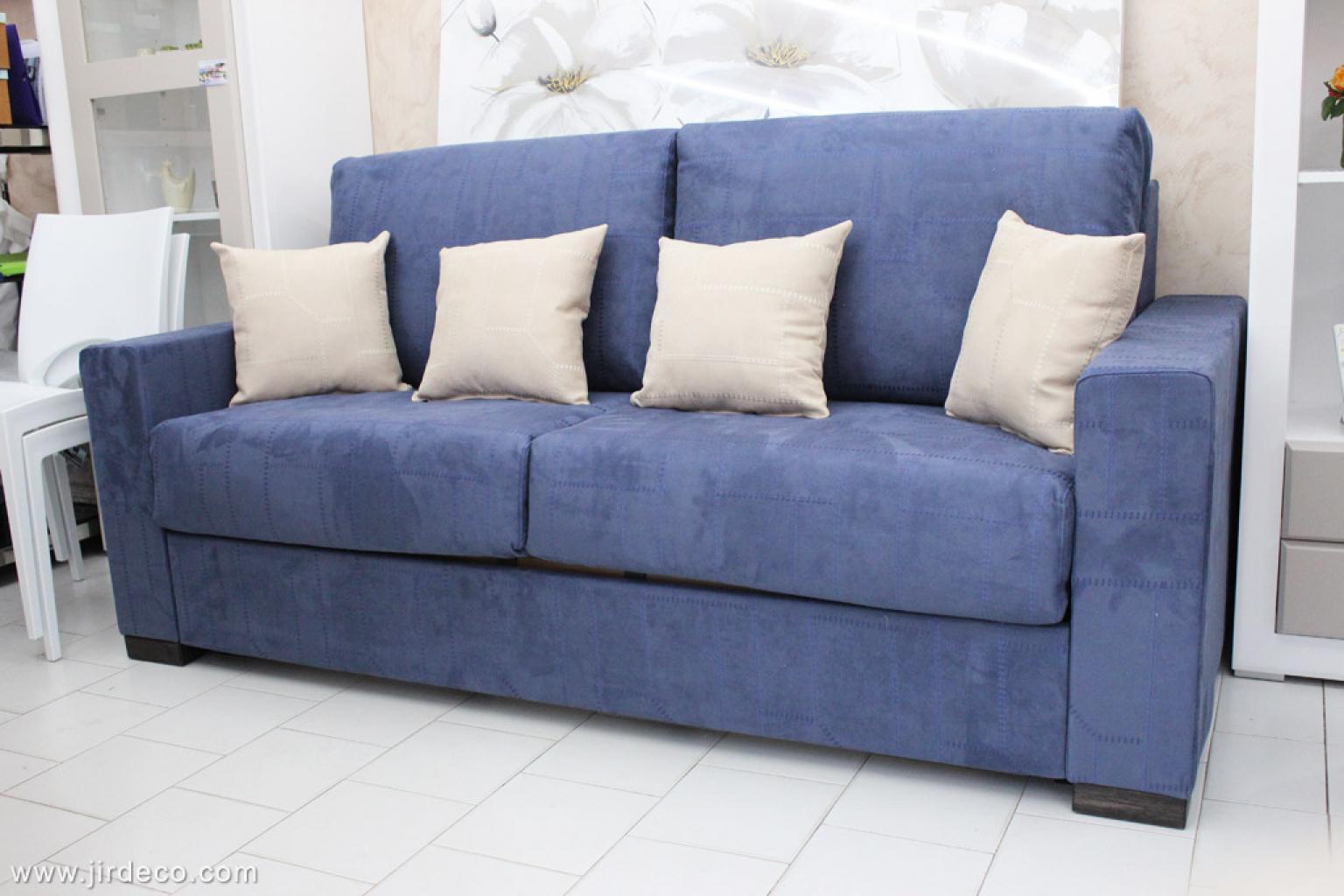 s canapé bleu nuit