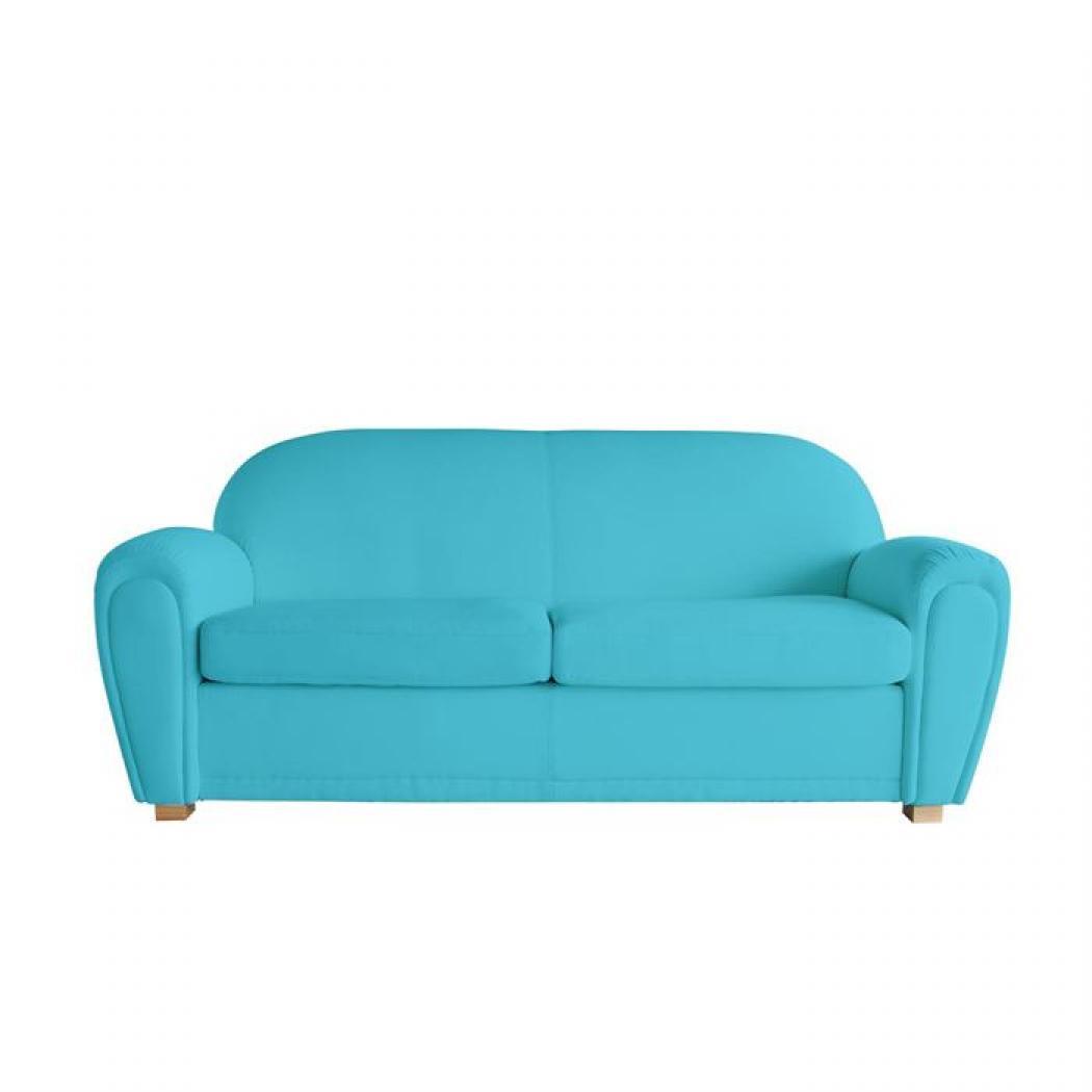 s canapé bleu turquoise